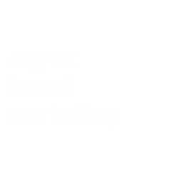 digital brand marketing Logo